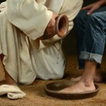 Jesus washing feet-210